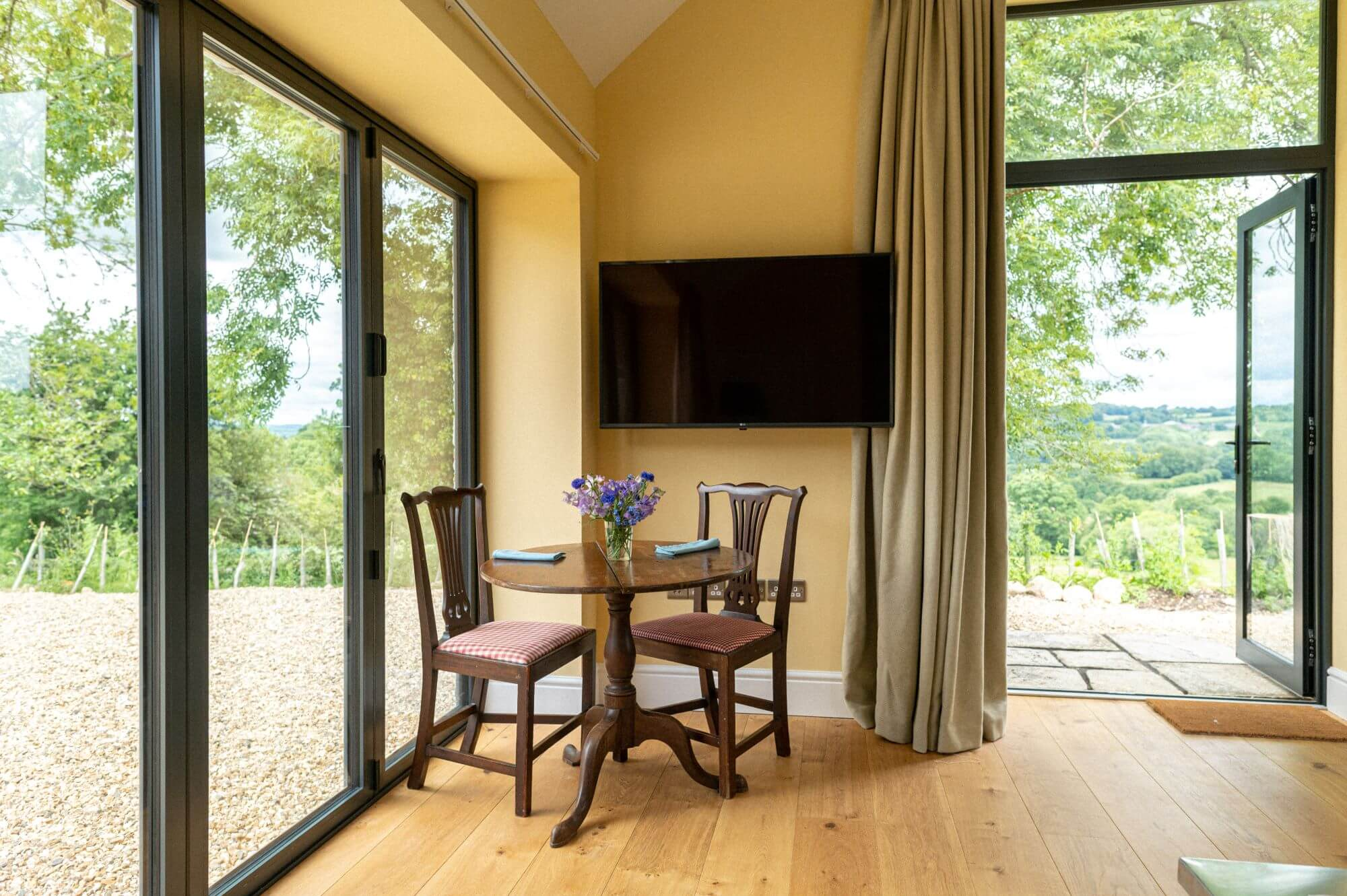 Meadow Barn Devon Holiday Cottage Television