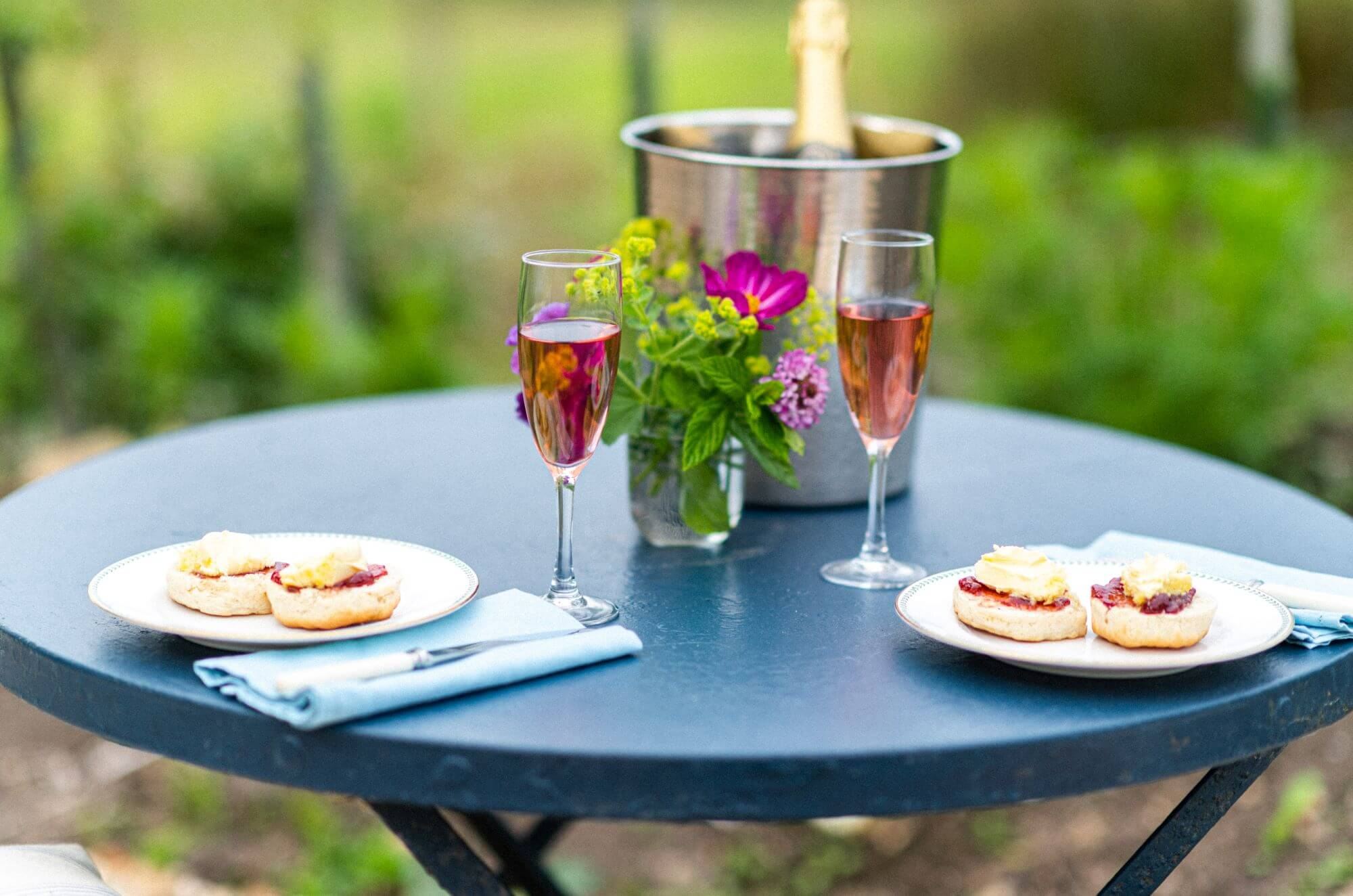 Meadow Barn Devon Holiday Cottage Pink Champagne
